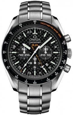 Omega Speedmaster HB-SIA GMT Chronograph SOLAR IMPULSE 321.90.44.52.01.001