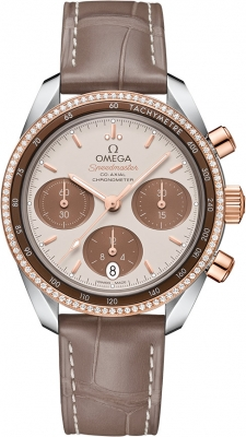 Omega Speedmaster Co-Axial Chronograph 38mm 324.28.38.50.02.002