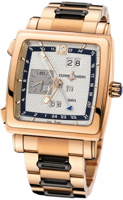 Ulysse Nardin Quadrato Dual Time Perpetual 326-90-8m/61
