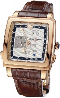 Ulysse Nardin Quadrato Dual Time Perpetual 326-90/61