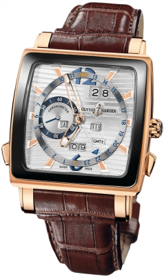 Ulysse Nardin Quadrato Dual Time Perpetual 326-90cer/91