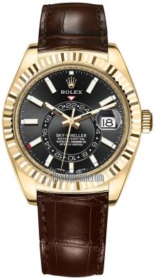 Rolex Sky Dweller 42mm 326138 Black Index