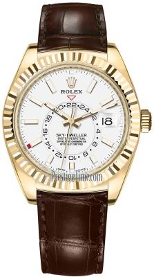 Rolex Sky Dweller 42mm 326138 White Index