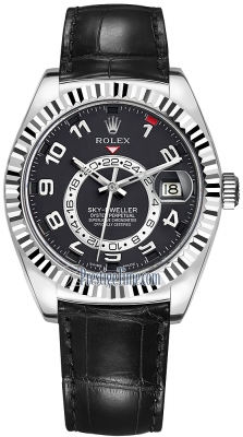 Rolex Sky Dweller 42mm 326139 Black Arabic
