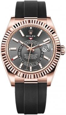 Rolex Sky Dweller 42mm 326235 Dark Rhodium Index