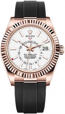 Rolex Sky Dweller 42mm 326235 White Index