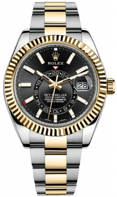 Rolex Sky Dweller 42mm 326933 Black Index