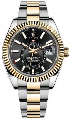 Rolex Sky Dweller 42mm 326933 Black Index