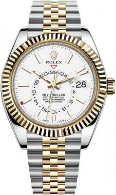 Rolex Sky Dweller 42mm 326933 White Index Jubilee