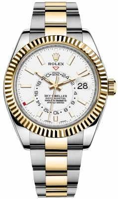 Rolex Sky Dweller 42mm 326933 White Index
