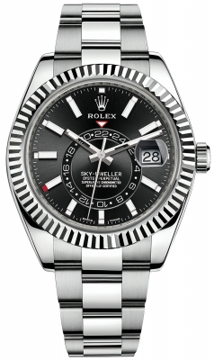 Rolex Sky Dweller 42mm 326934 Black Index