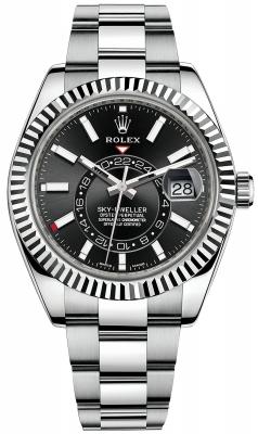Rolex Sky Dweller 42mm 326934 Black Index