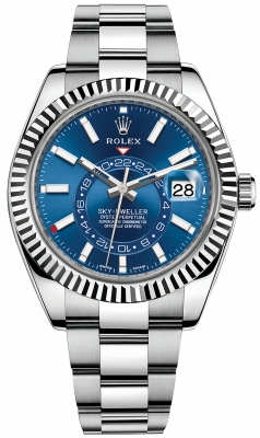 Rolex Sky Dweller 42mm 326934 Blue Index