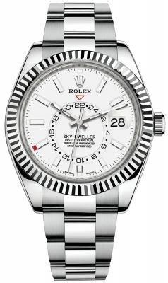 Rolex Sky Dweller 42mm 326934 White Index