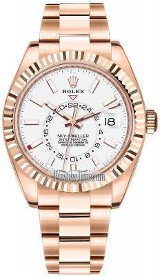 Rolex Sky Dweller 42mm 326935 White Index