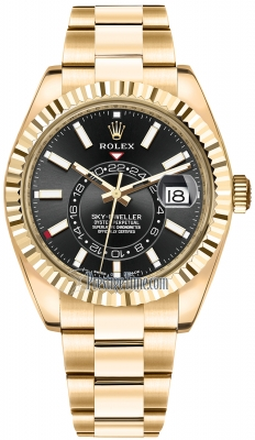 Rolex Sky Dweller 42mm 326938 Black Index
