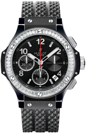 Hublot 341.cd.130.rx.194 Big Bang Black Magic Diamonds 41mm Mens Watches