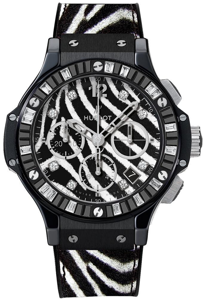 341.cv.7517.vr.1975 Hublot Big Bang Zebra Bang 41mm Ladies Watch