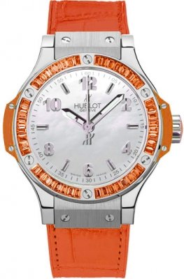 Hublot Big Bang Quartz Steel Tutti Frutti 38mm 361.so.6010.lr.1906 ORANGE