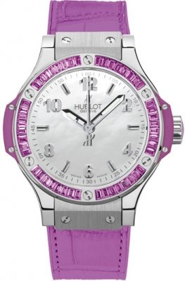 Hublot Big Bang Quartz Steel Tutti Frutti 38mm 361.sv.6010.lr.1905 Purple