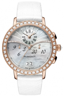 Blancpain Ladies Chronograph Flyback Grande Date 3626-2954-58a