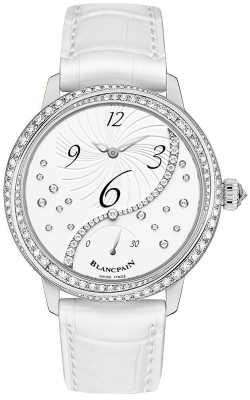 Blancpain Ladies Off Centered Hour Retrograde Seconds 3650a-4528-55b