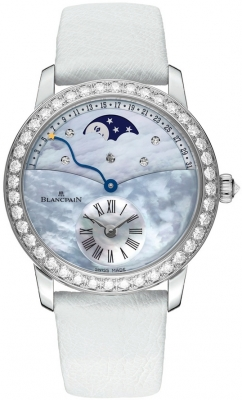 Blancpain Ladies Retrograde Calendar Moonphase 3653-1954L-58b