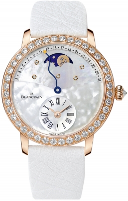 Blancpain Ladies Retrograde Calendar Moonphase 3653-2954-58b