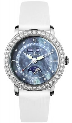 Blancpain Ladies Moonphase & Complete Calendar 35mm 3663-4654L-52b