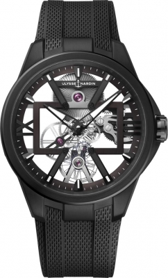 Ulysse Nardin Executive Skeleton X 42mm 3713-260-3/BLACK