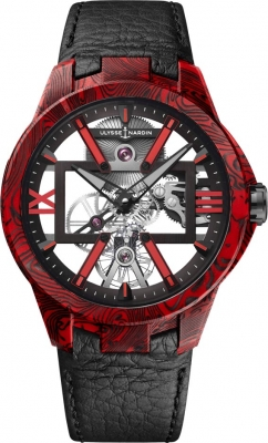 Ulysse Nardin Executive Skeleton X 42mm 3713-260/MAGMA