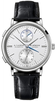 A. Lange & Sohne Saxonia Dual Time 38.5mm 386.026