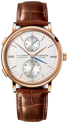 A. Lange & Sohne Saxonia Dual Time 38.5mm 386.032