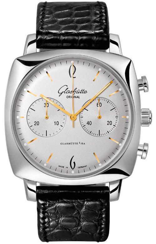 Glashutte Original 39-34-03-32-04 Senator Sixties Chronograph Mens Watches