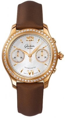 Glashutte Original Lady Serenade Chronograph 39-34-11-11-44