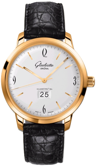 Glashutte Original 39-47-01-01-04 Senator Sixties Panorama Date Mens Watches
