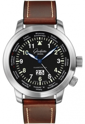 Glashutte Original Senator Navigator Worldview 39-47-07-07-04