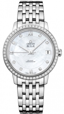 Omega De Ville Prestige Co-Axial 32.7 424.15.33.20.55.001