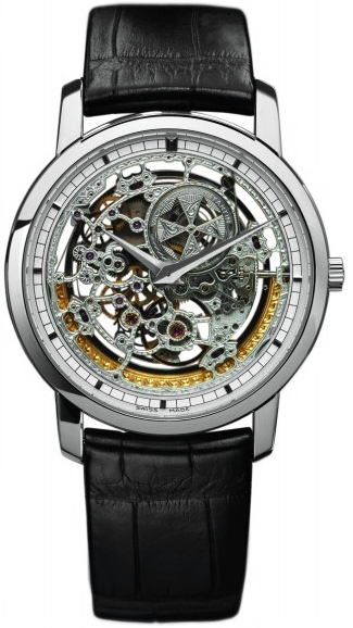 Vacheron Constantin 43178/000g-9393 Patrimony Traditionnelle Openworked Automatic 38mm Mens Watches