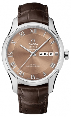 Omega De Ville Hour Vision Annual Calendar Co-Axial Master Chronometer 41mm 433.13.41.22.10.001