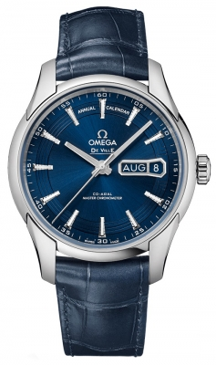 Omega De Ville Hour Vision Annual Calendar Co-Axial Master Chronometer 41mm 433.33.41.22.03.001