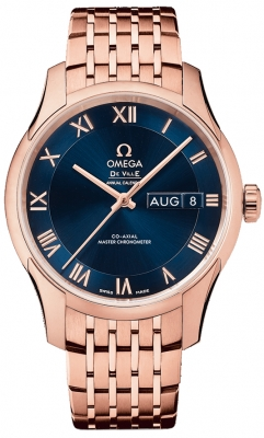 Omega De Ville Hour Vision Annual Calendar Co-Axial Master Chronometer 41mm 433.50.41.22.03.001