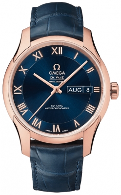 Omega De Ville Hour Vision Annual Calendar Co-Axial Master Chronometer 41mm 433.53.41.22.03.001