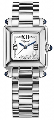 Chopard Happy Sport Classic Square 5 Floating Diamonds 278893-3006
