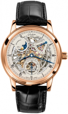 Glashutte Original Senator Moon Phase Skeletonized 49-13-15-15-04