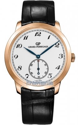 Girard Perregaux 1966 Automatic Small Seconds 40mm 49534-52-711-BK6A