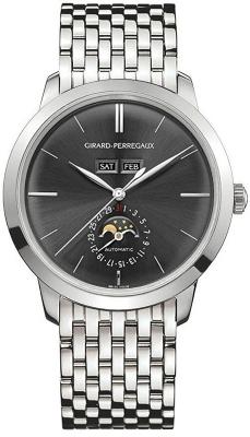 Girard Perregaux 1966 Full Calendar 40mm 49535-53-251-53a