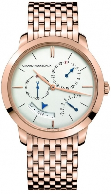 Girard Perregaux 1966 Annual Calendar Equation Of Time 49538-52-131-52a