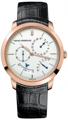 Girard Perregaux 1966 Annual Calendar Equation Of Time 49538-52-131-bk6a
