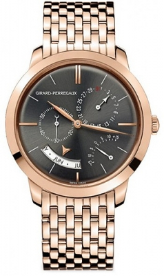Girard Perregaux 1966 Annual Calendar Equation Of Time 49538-52-231-52a